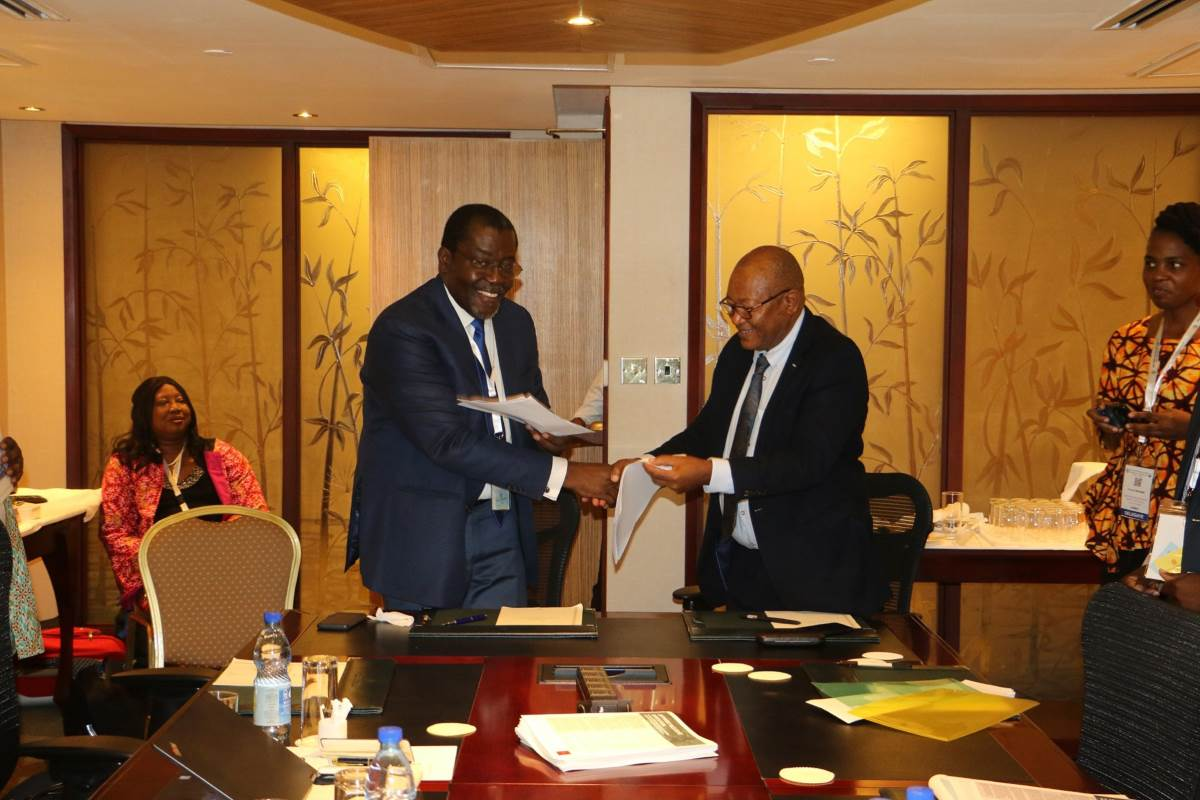 AfWA-ESAWAS MoU Signed